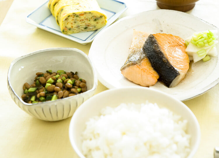 食事の工夫を見出し食事療法をサポート